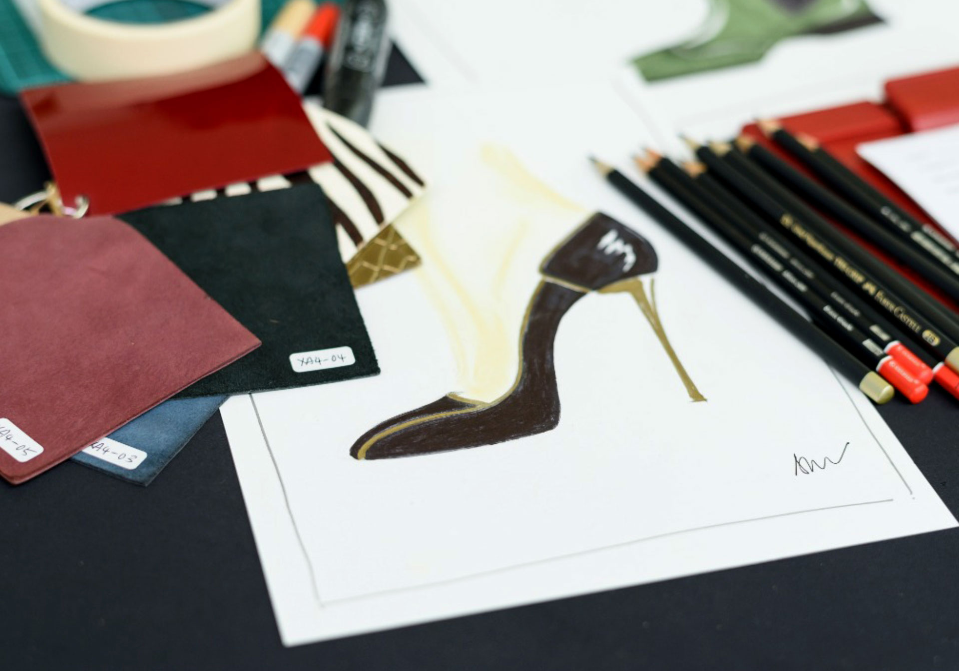 Dead Set On Originality In The Shoe Industry