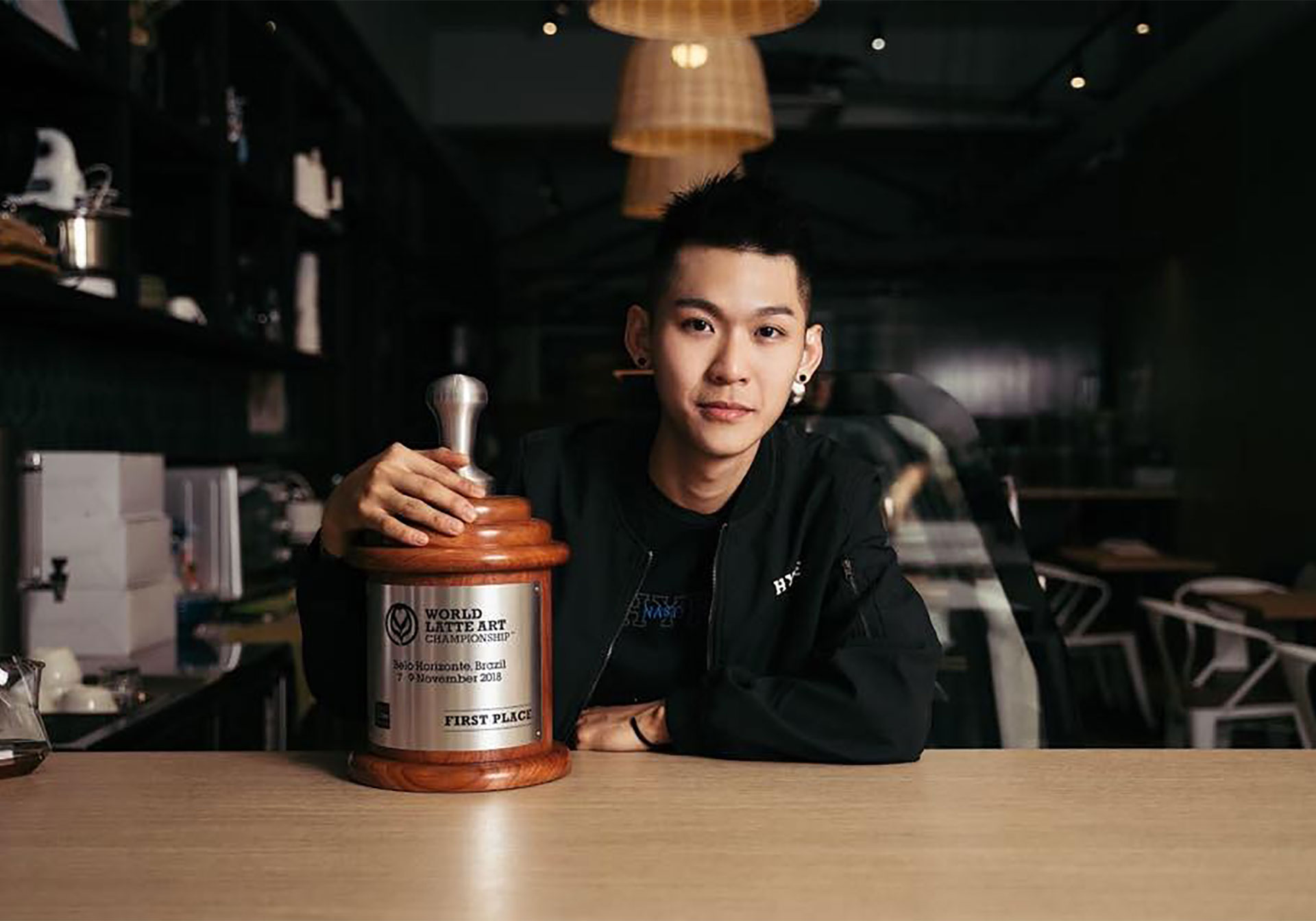This High-School Dropout Is Now A 2-Time World Latte Art Champion